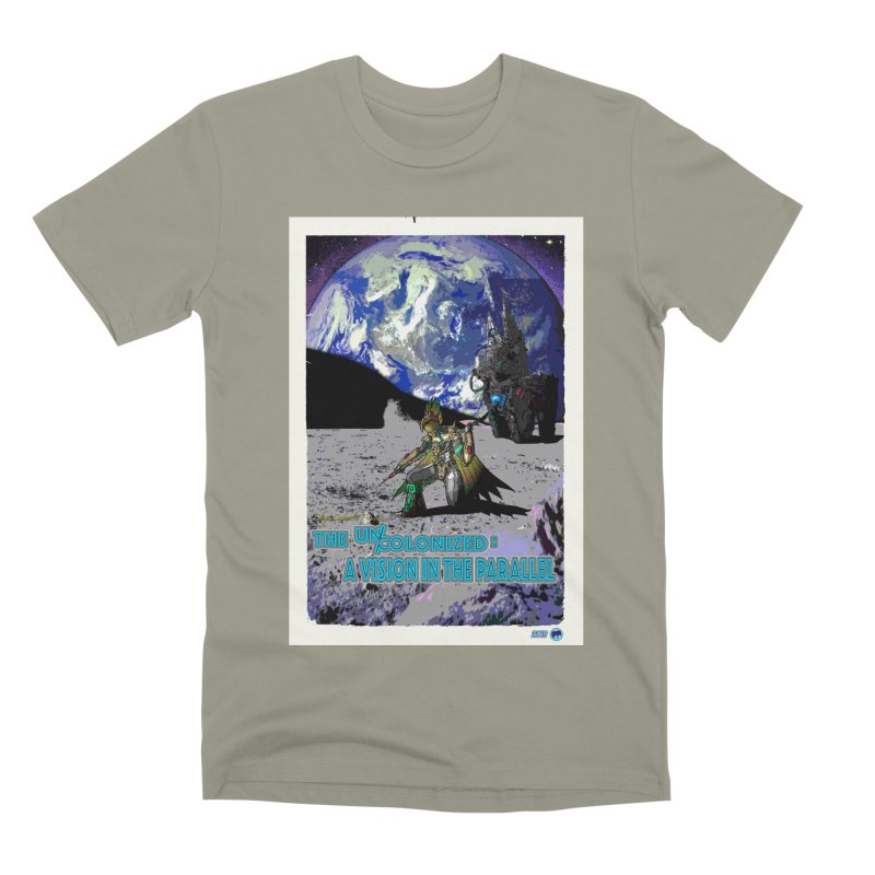 The Uncolonized: A Vision in The Parallel by ChupaCabrales Men's Premium T-Shirt by ChupaCabrales's Shop