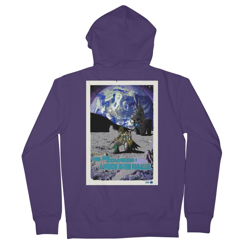 The Uncolonized: A Vision in The Parallel by ChupaCabrales Women's Zip-Up Hoody by ChupaCabrales's Shop