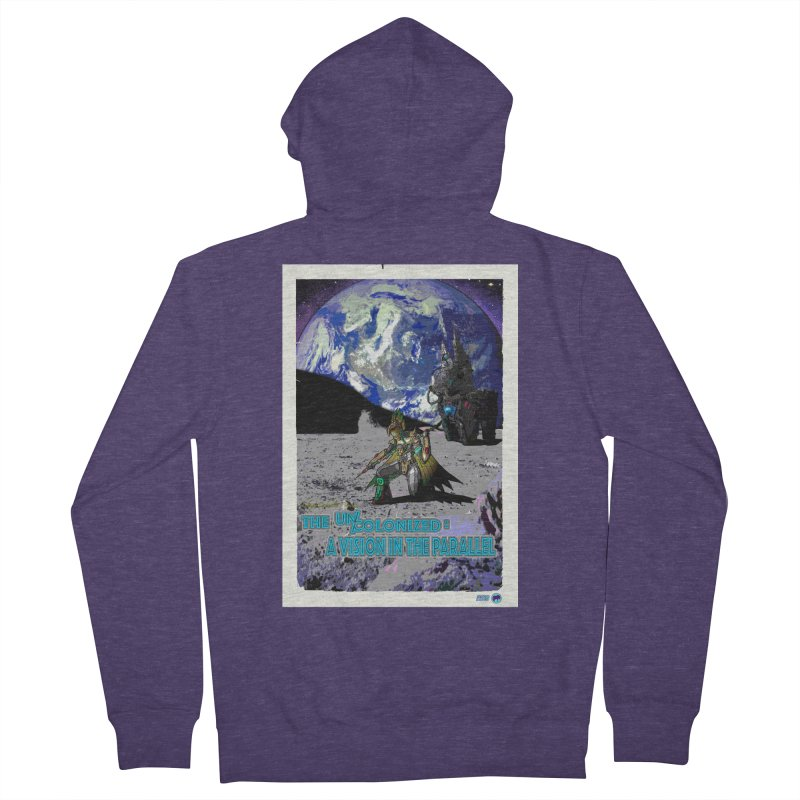 The Uncolonized: A Vision in The Parallel by ChupaCabrales Men's French Terry Zip-Up Hoody by ChupaCabrales's Shop
