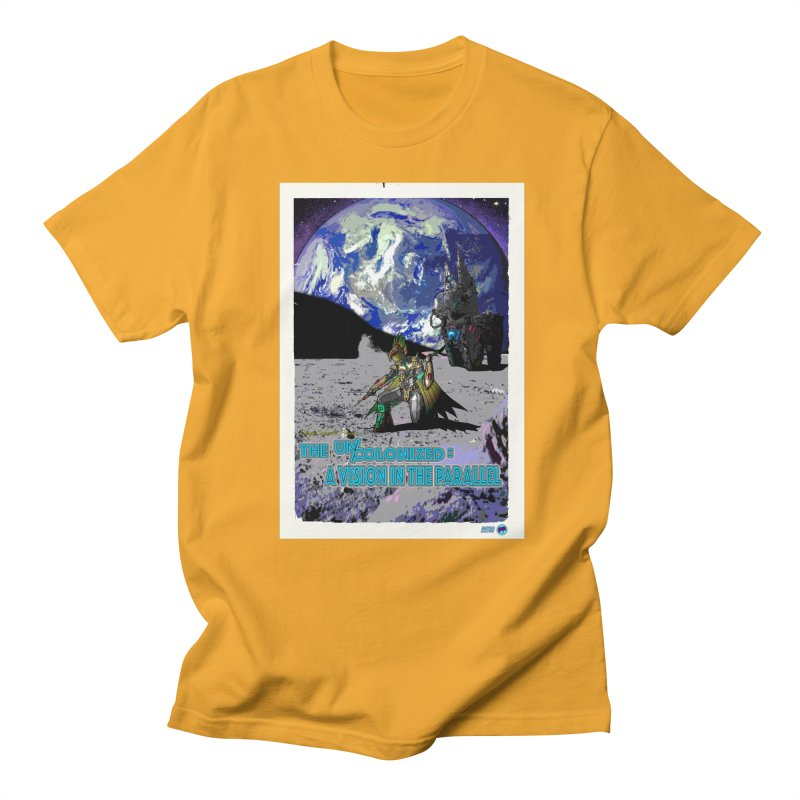 The Uncolonized: A Vision in The Parallel by ChupaCabrales Men's Regular T-Shirt by ChupaCabrales's Shop