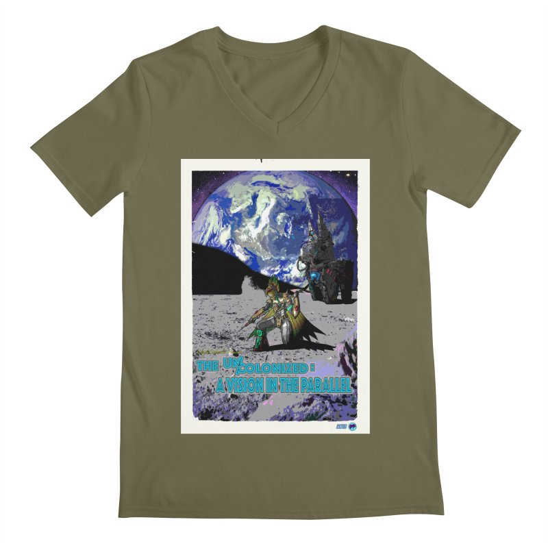 The Uncolonized: A Vision in The Parallel by ChupaCabrales Men's Regular V-Neck by ChupaCabrales's Shop