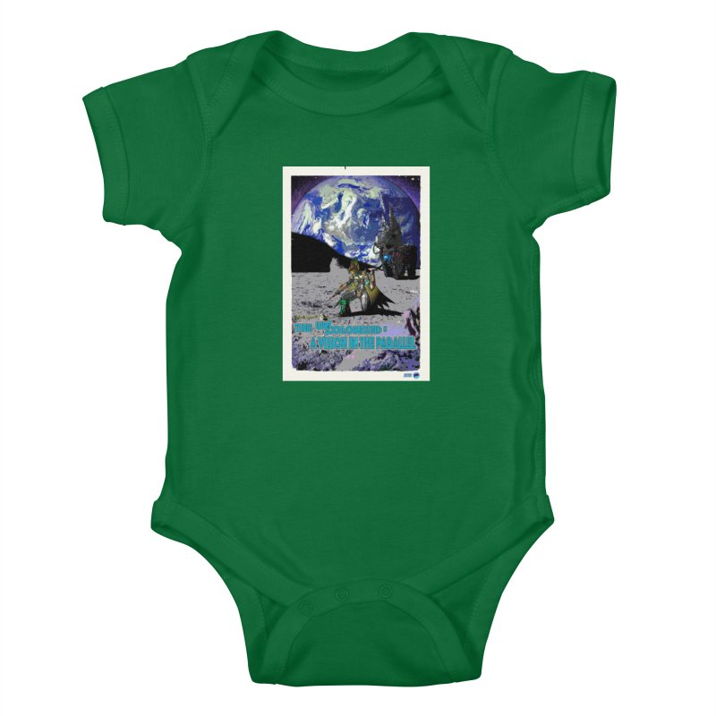 The Uncolonized: A Vision in The Parallel by ChupaCabrales Kids Baby Bodysuit by ChupaCabrales's Shop