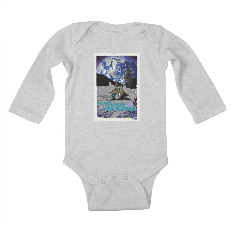 The Uncolonized: A Vision in The Parallel by ChupaCabrales Kids Baby Longsleeve Bodysuit by ChupaCabrales's Shop