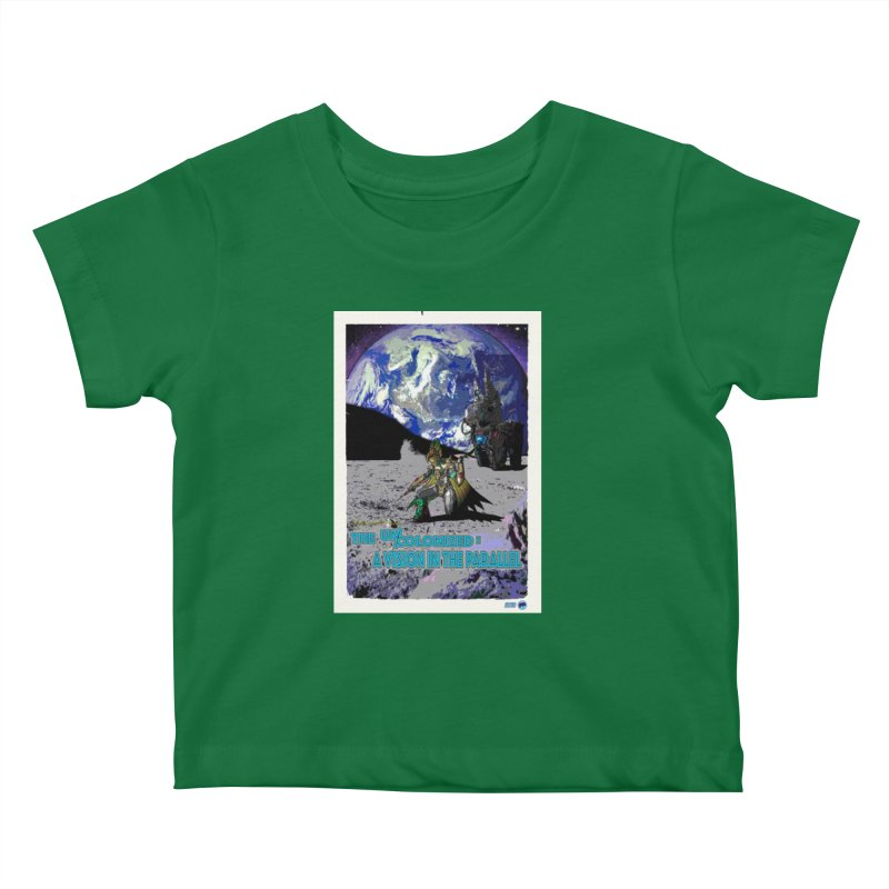 The Uncolonized: A Vision in The Parallel by ChupaCabrales Kids Baby T-Shirt by ChupaCabrales's Shop