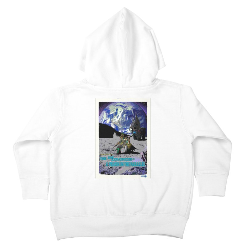 The Uncolonized: A Vision in The Parallel by ChupaCabrales Kids Toddler Zip-Up Hoody by ChupaCabrales's Shop