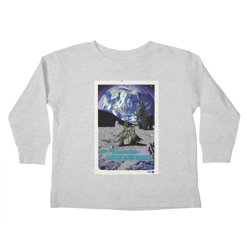 The Uncolonized: A Vision in The Parallel by ChupaCabrales Kids Toddler Longsleeve T-Shirt by ChupaCabrales's Shop