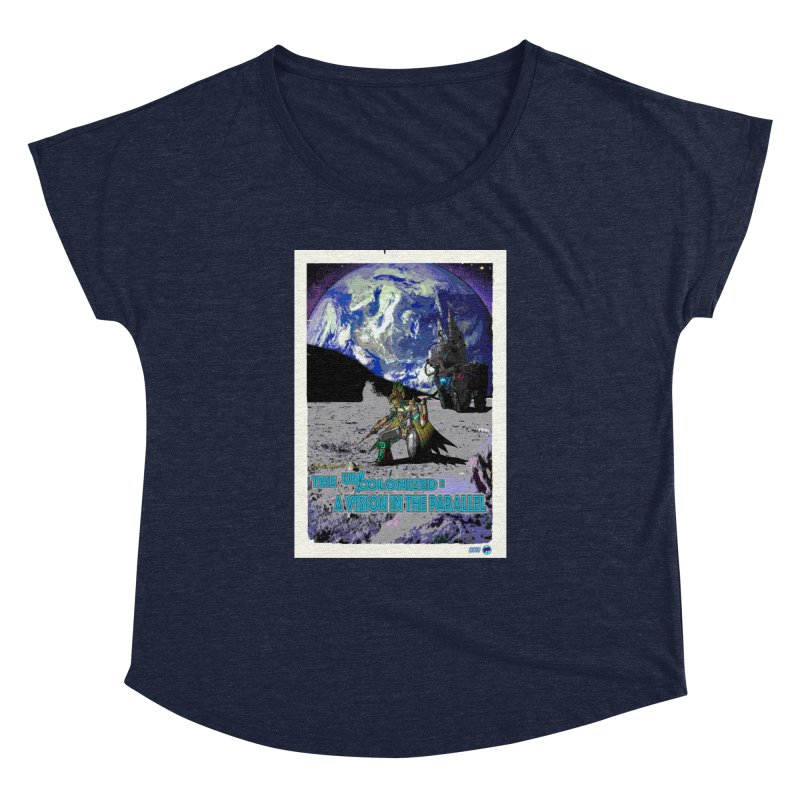 The Uncolonized: A Vision in The Parallel by ChupaCabrales Women's Dolman Scoop Neck by ChupaCabrales's Shop