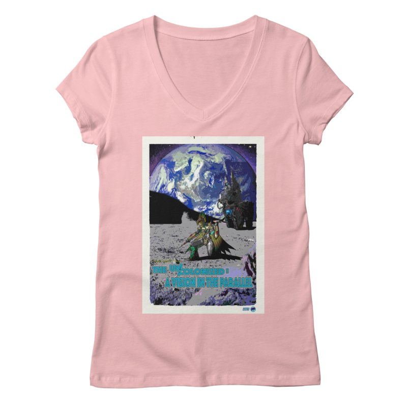 The Uncolonized: A Vision in The Parallel by ChupaCabrales Women's Regular V-Neck by ChupaCabrales's Shop