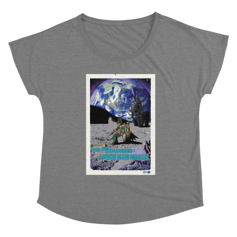 The Uncolonized: A Vision in The Parallel by ChupaCabrales Women's Scoop Neck by ChupaCabrales's Shop