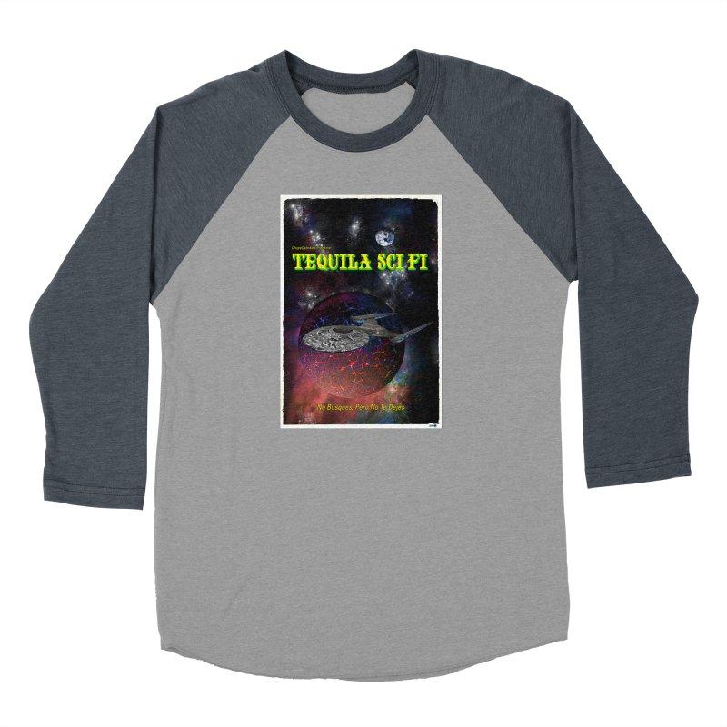 Tequila Sci Fi by ChupaCabrales Women's Baseball Triblend Longsleeve T-Shirt by ChupaCabrales's Shop