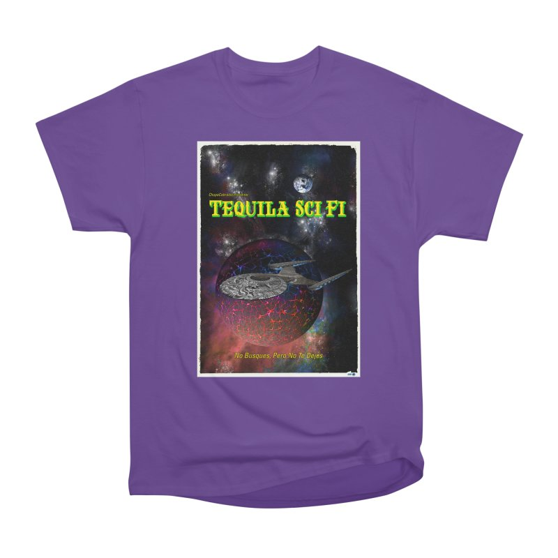 Tequila Sci Fi by ChupaCabrales Men's Heavyweight T-Shirt by ChupaCabrales's Shop