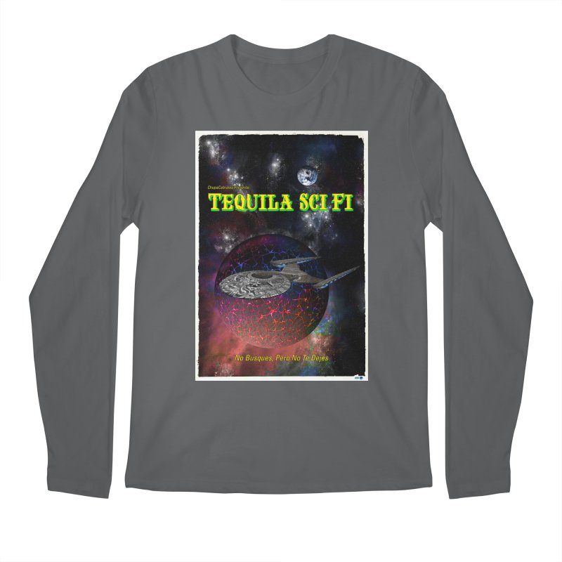 Tequila Sci Fi by ChupaCabrales Men's Longsleeve T-Shirt by ChupaCabrales's Shop