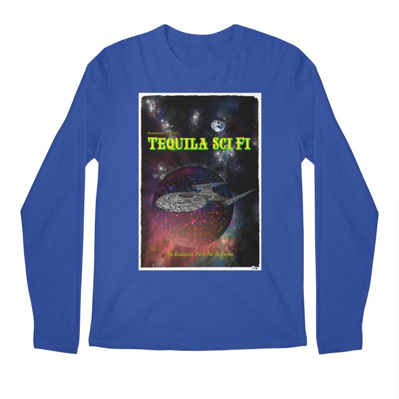 Tequila Sci Fi by ChupaCabrales Men's Regular Longsleeve T-Shirt by ChupaCabrales's Shop