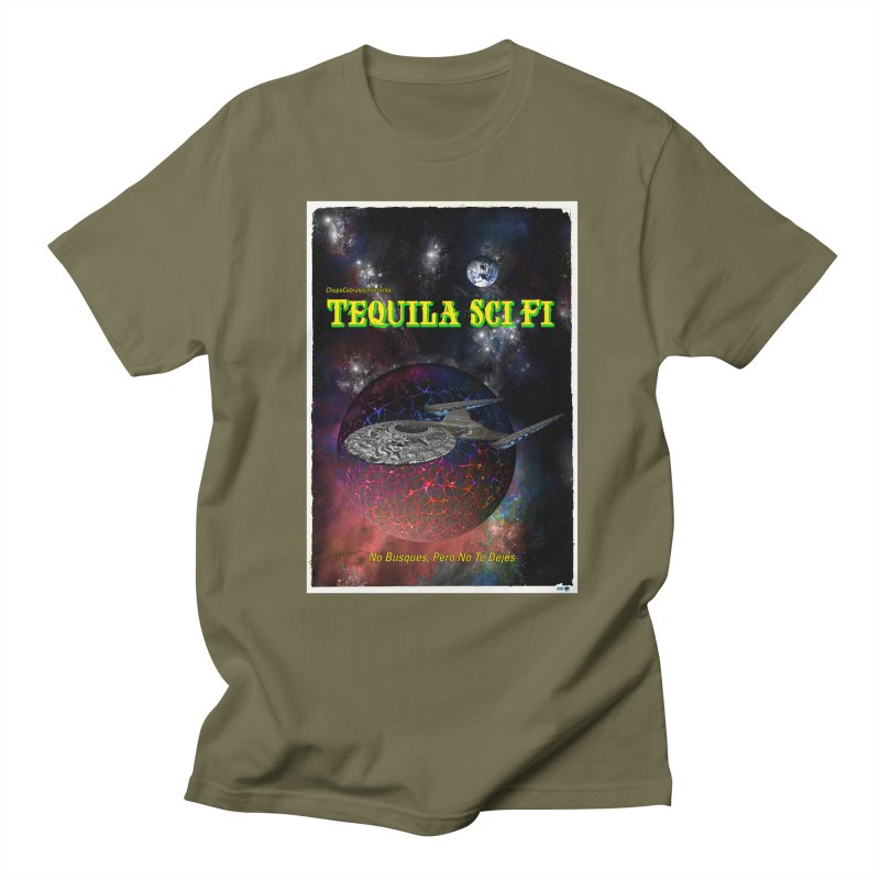 Tequila Sci Fi by ChupaCabrales Women's Regular Unisex T-Shirt by ChupaCabrales's Shop