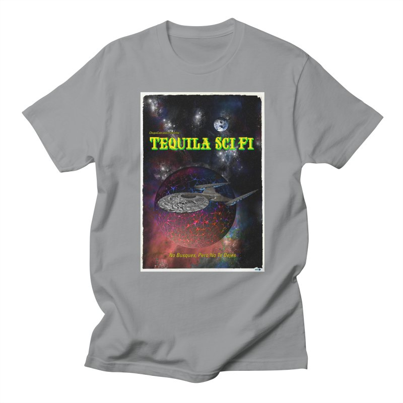 Tequila Sci Fi by ChupaCabrales Men's Regular T-Shirt by ChupaCabrales's Shop