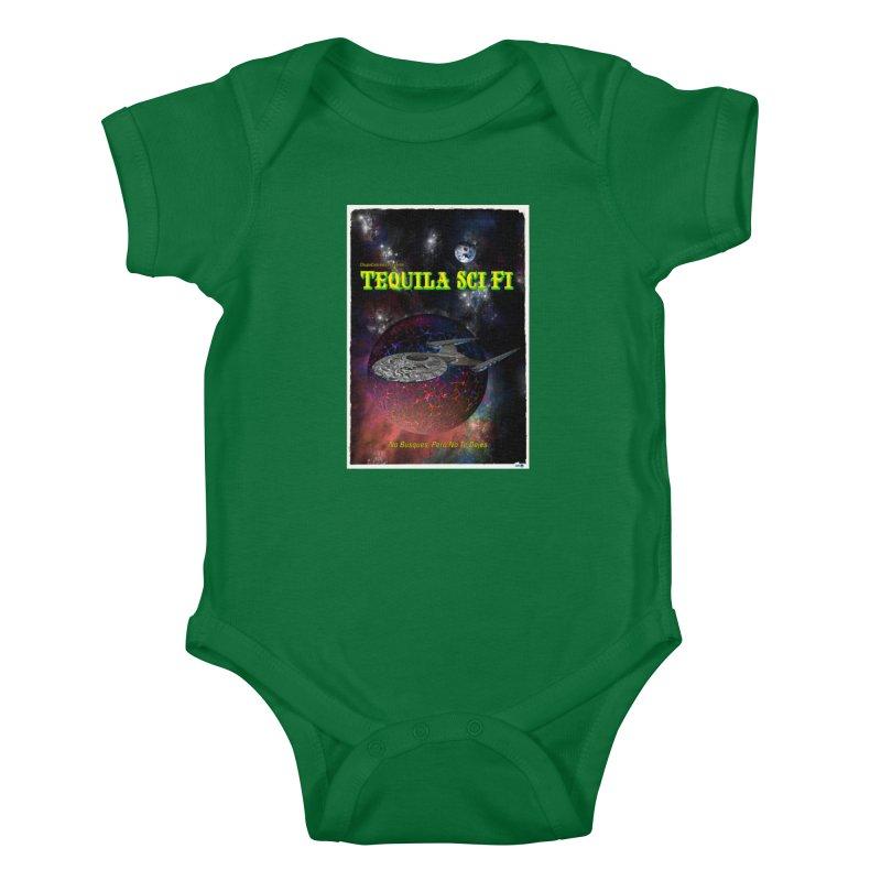 Tequila Sci Fi by ChupaCabrales Kids Baby Bodysuit by ChupaCabrales's Shop