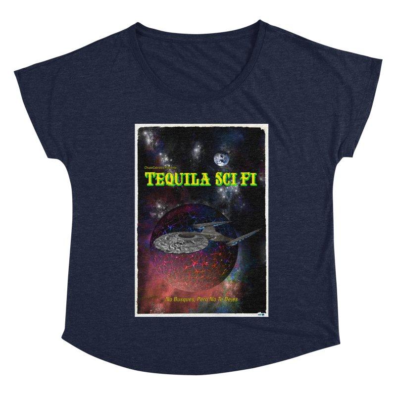 Tequila Sci Fi by ChupaCabrales Women's Dolman Scoop Neck by ChupaCabrales's Shop