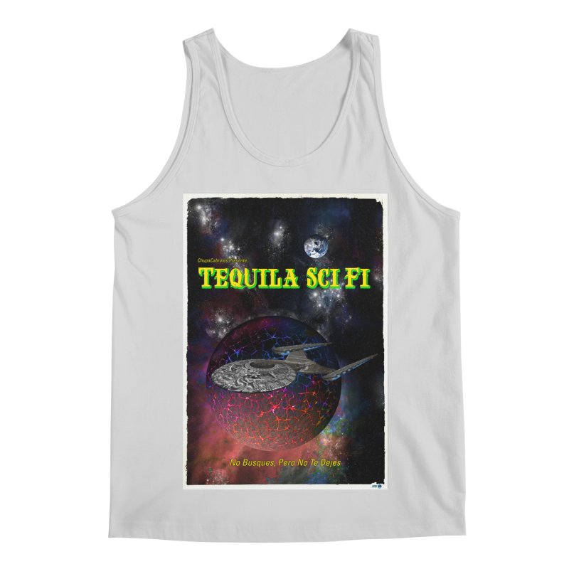 Tequila Sci Fi by ChupaCabrales Men's Regular Tank by ChupaCabrales's Shop