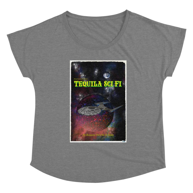 Tequila Sci Fi by ChupaCabrales Women's Scoop Neck by ChupaCabrales's Shop