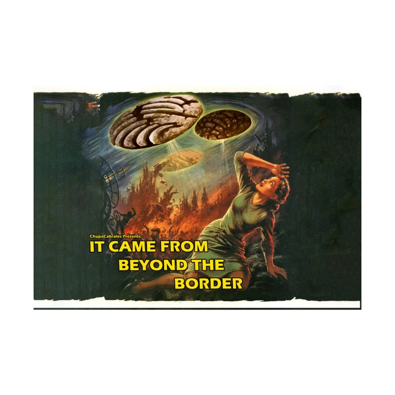 It Came From Beyond the Border Mask Accessories Face Mask by ChupaCabrales's Shop