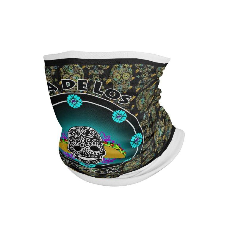 Dia de los Tacos Mask Accessories Neck Gaiter by ChupaCabrales's Shop