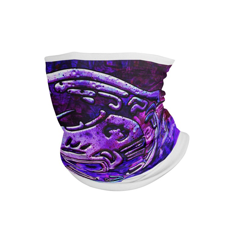 Quetzalcoatl Mask Accessories Neck Gaiter by ChupaCabrales's Shop