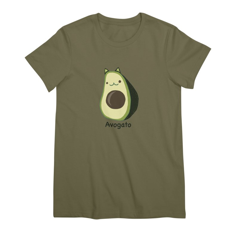 Avogato by Tasita Women's Premium T-Shirt by ChupaCabrales's Shop
