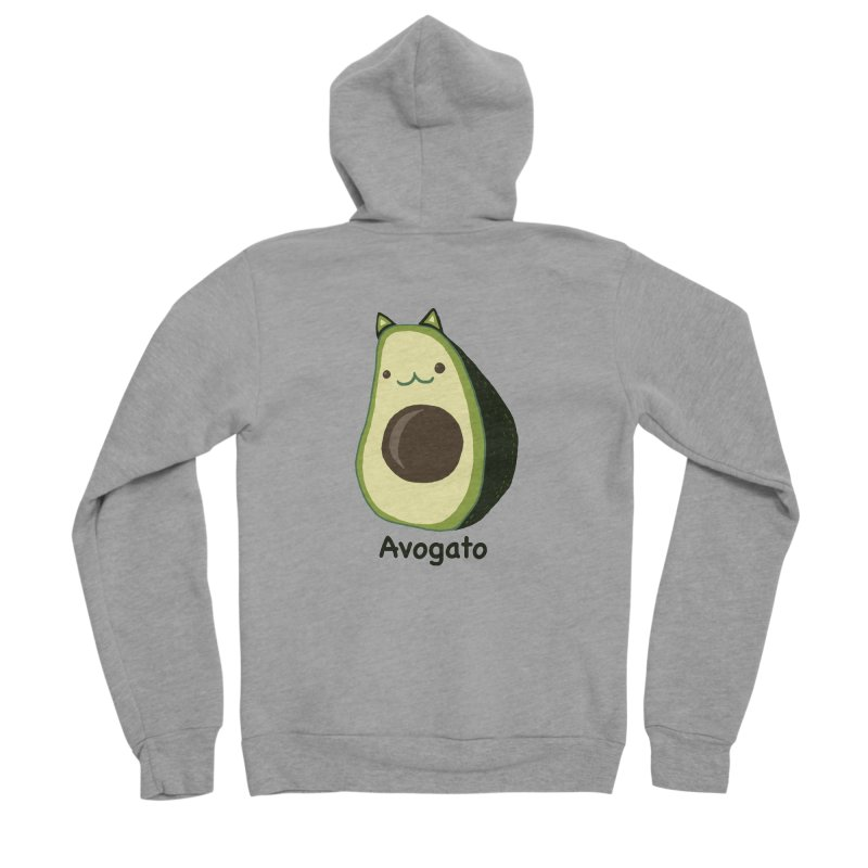 Avogato by Tasita Women's Sponge Fleece Zip-Up Hoody by ChupaCabrales's Shop