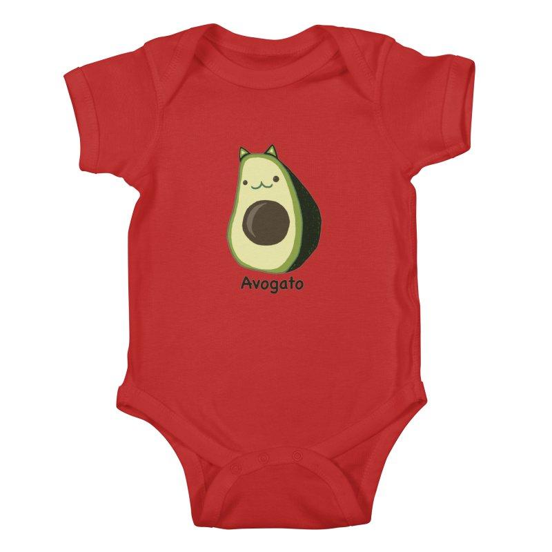 Avogato by Tasita Kids Baby Bodysuit by ChupaCabrales's Shop
