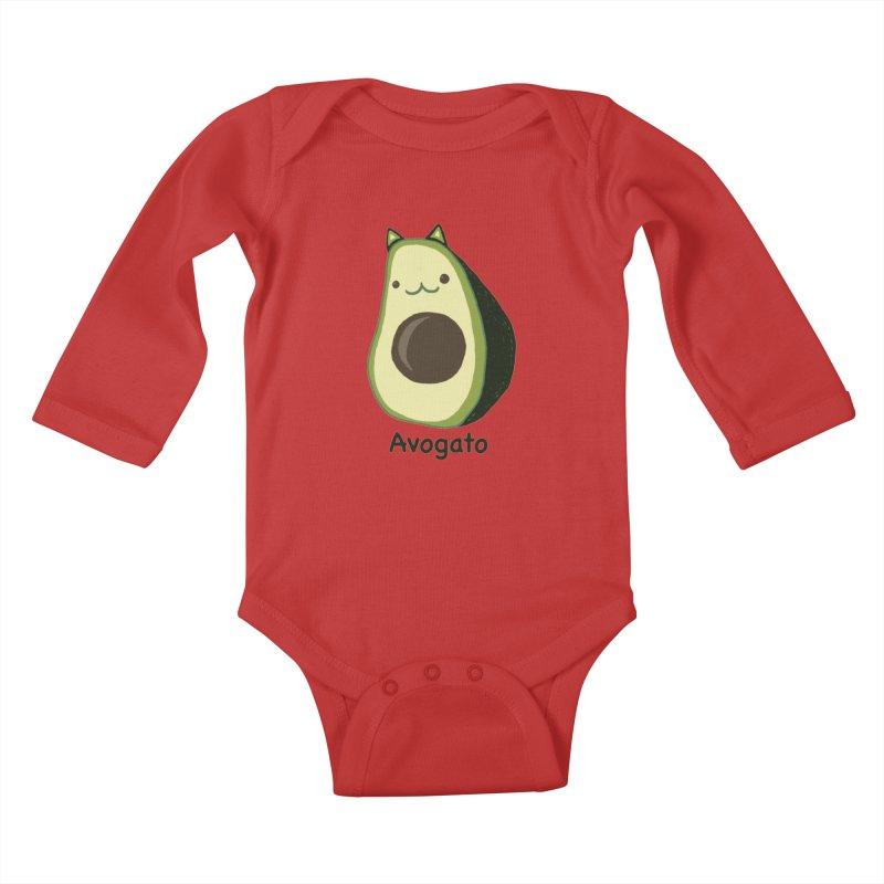 Avogato by Tasita Kids Baby Longsleeve Bodysuit by ChupaCabrales's Shop