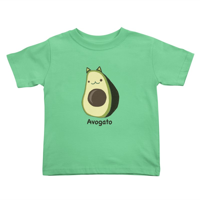 Avogato by Tasita Kids Toddler T-Shirt by ChupaCabrales's Shop