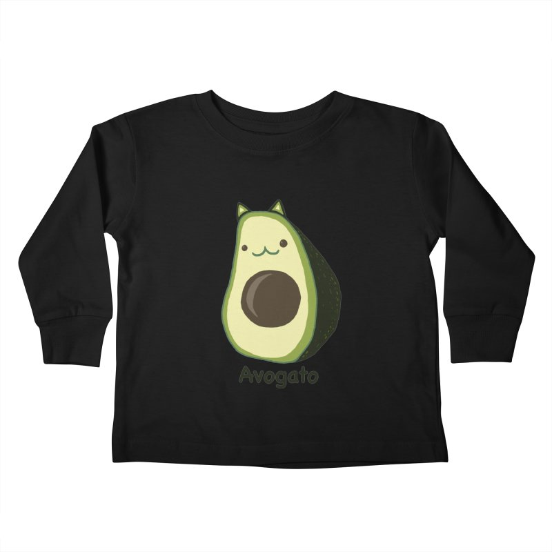 Avogato by Tasita Kids Toddler Longsleeve T-Shirt by ChupaCabrales's Shop