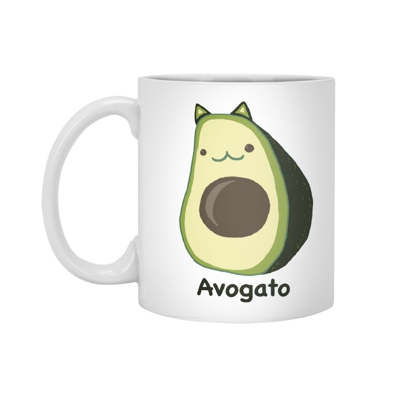 Avogato by Tasita Accessories Standard Mug by ChupaCabrales's Shop