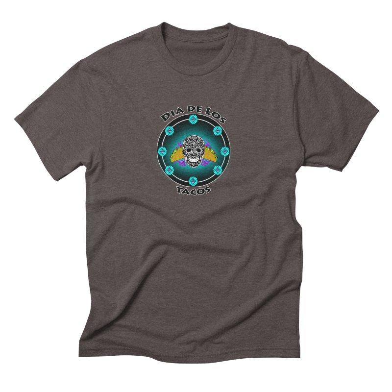 Dia De Los Tacos by ChupaCabrales Men's Triblend T-shirt by ChupaCabrales's Shop