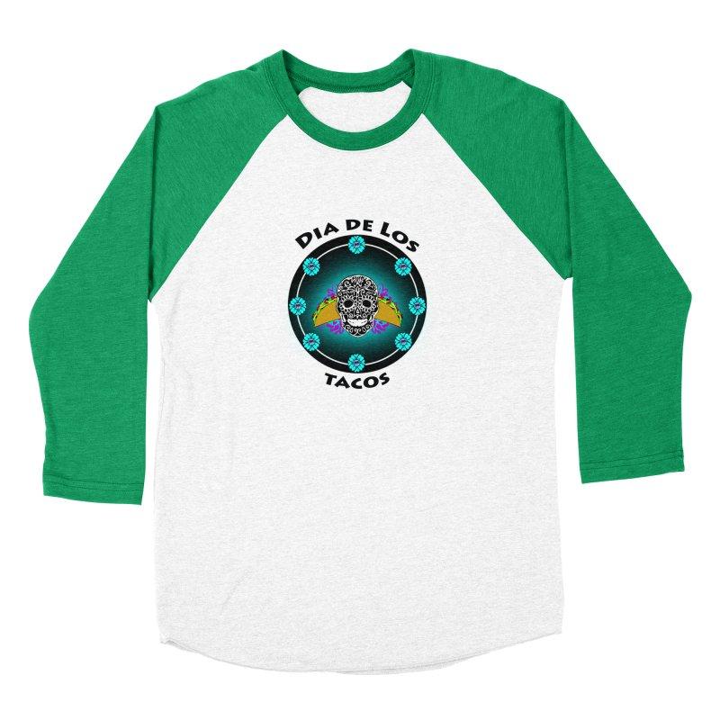 Dia De Los Tacos by ChupaCabrales Men's Baseball Triblend T-Shirt by ChupaCabrales's Shop
