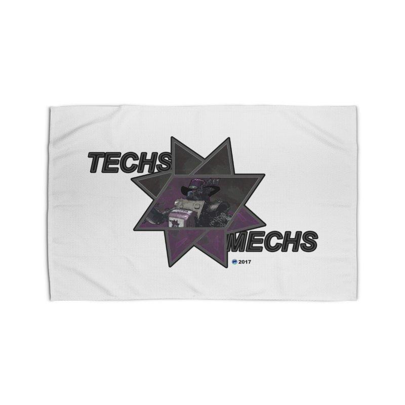 Techs Mechs by ChupaCabrales Home Rug by ChupaCabrales's Shop