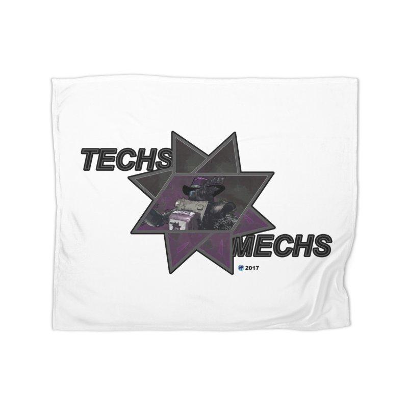 Techs Mechs by ChupaCabrales Home Blanket by ChupaCabrales's Shop