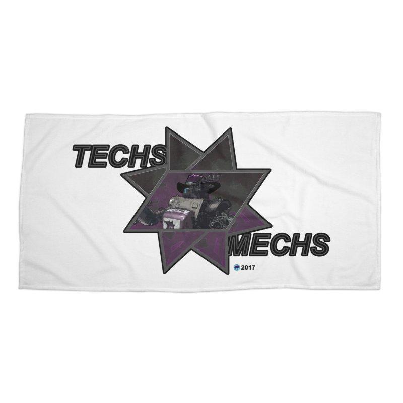 Techs Mechs by ChupaCabrales Accessories Beach Towel by ChupaCabrales's Shop