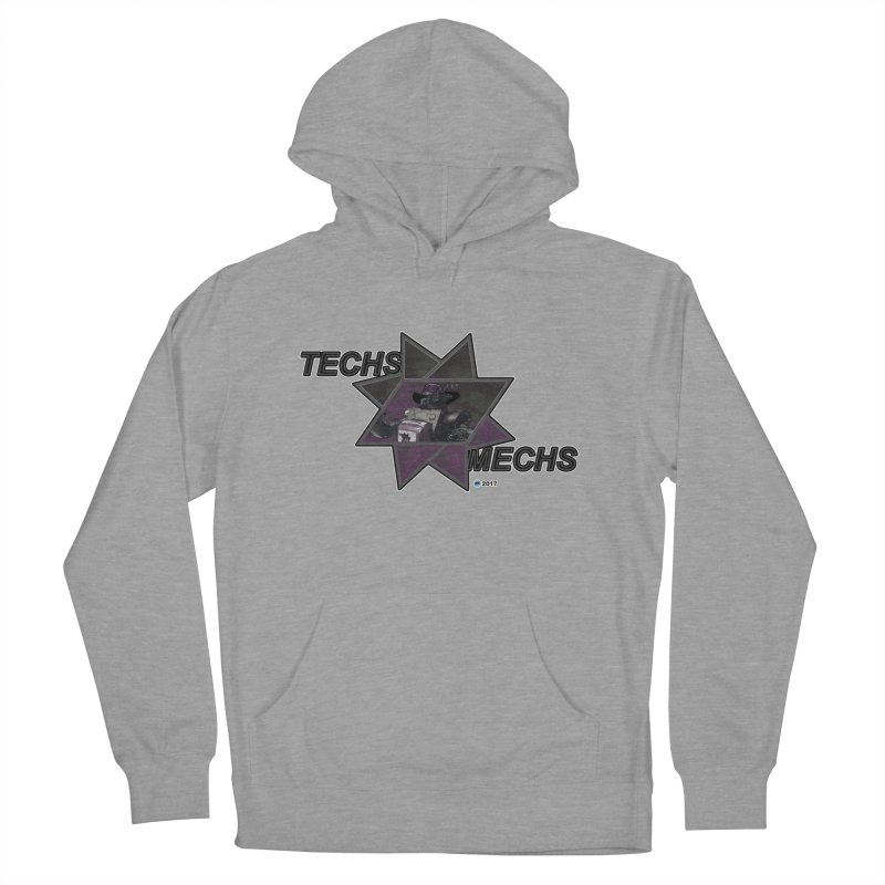 Techs Mechs by ChupaCabrales Men's French Terry Pullover Hoody by ChupaCabrales's Shop