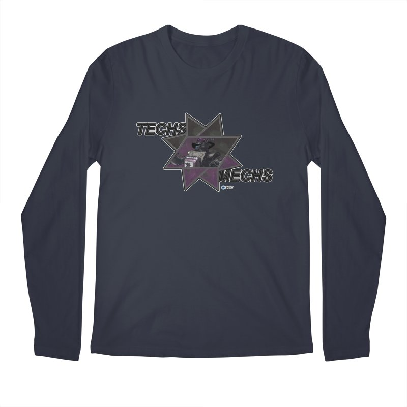 Techs Mechs by ChupaCabrales Men's Longsleeve T-Shirt by ChupaCabrales's Shop