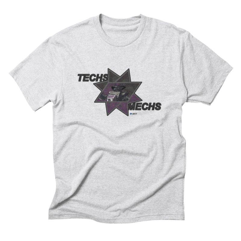 Techs Mechs by ChupaCabrales Men's Triblend T-shirt by ChupaCabrales's Shop