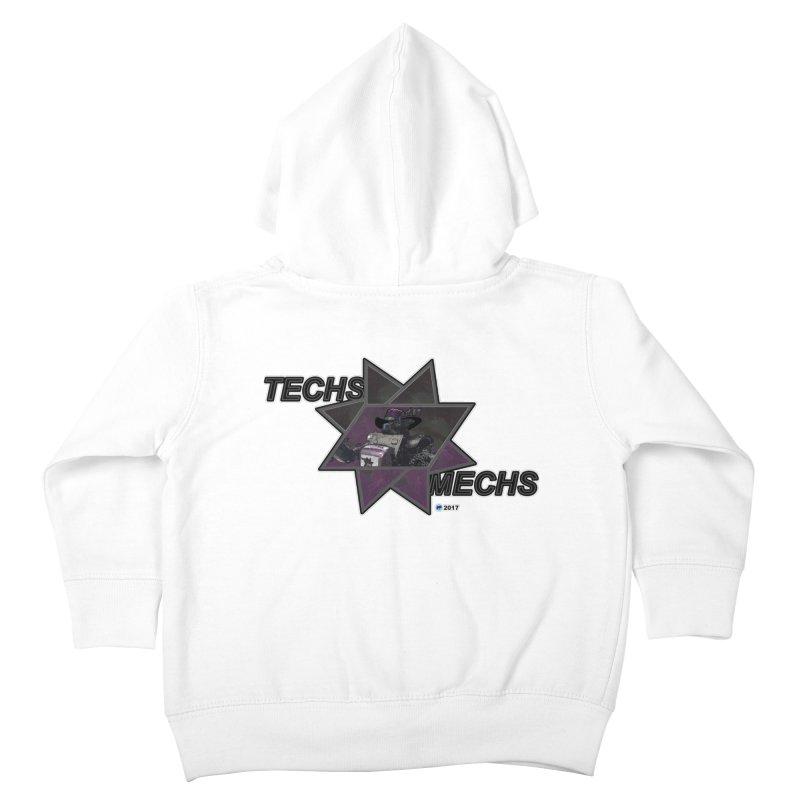 Techs Mechs by ChupaCabrales Kids Toddler Zip-Up Hoody by ChupaCabrales's Shop