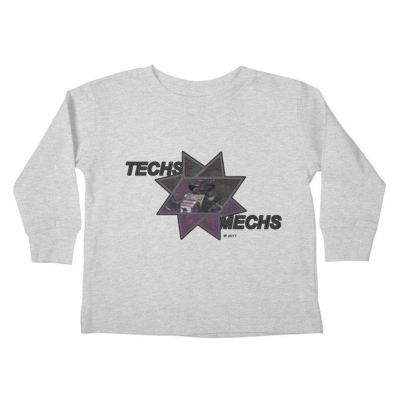 Techs Mechs by ChupaCabrales Kids Toddler Longsleeve T-Shirt by ChupaCabrales's Shop