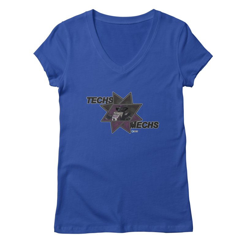 Techs Mechs by ChupaCabrales Women's V-Neck by ChupaCabrales's Shop