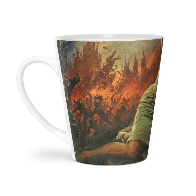 It Came From Beyond the Border by ChupaCabrales Accessories Latte Mug by ChupaCabrales's Shop
