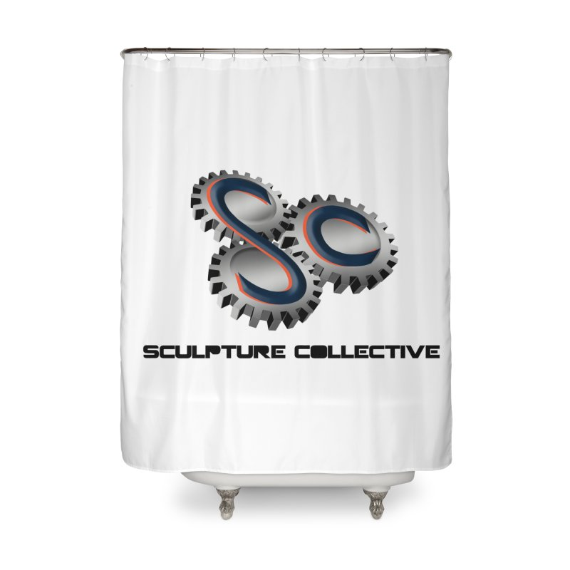 Sculpture Collective by ChupaCabrales Home Shower Curtain by ChupaCabrales's Shop