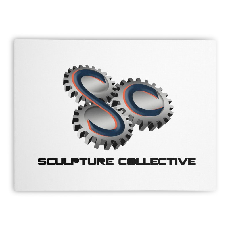 Sculpture Collective by ChupaCabrales Home Stretched Canvas by ChupaCabrales's Shop