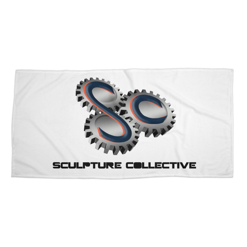 Sculpture Collective by ChupaCabrales Accessories Beach Towel by ChupaCabrales's Shop