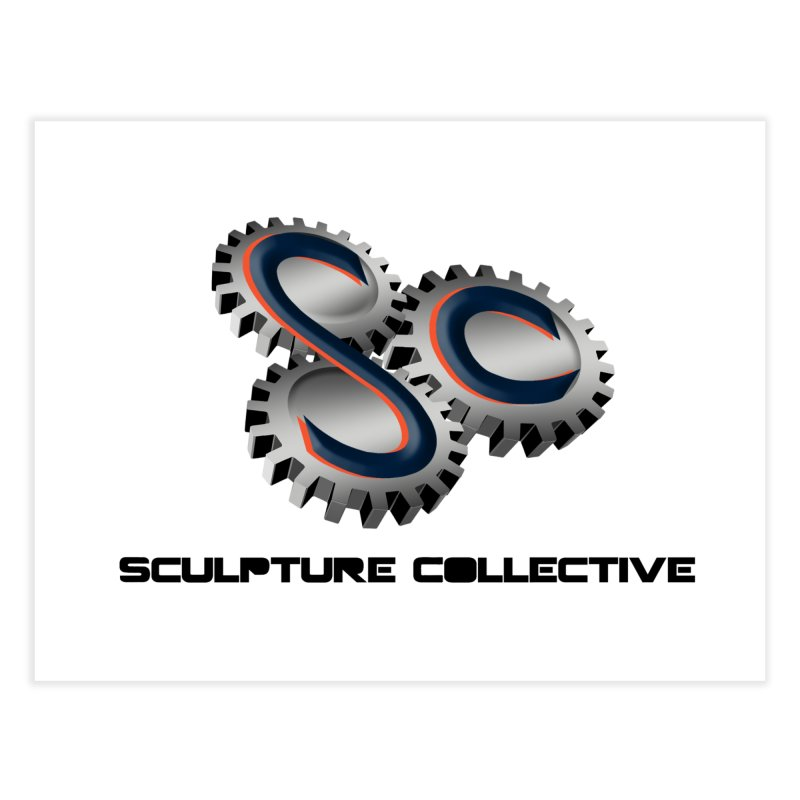 Sculpture Collective by ChupaCabrales Home Fine Art Print by ChupaCabrales's Shop