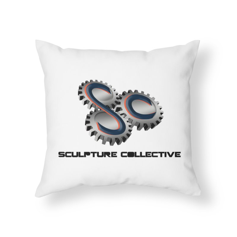 Sculpture Collective by ChupaCabrales Home Throw Pillow by ChupaCabrales's Shop